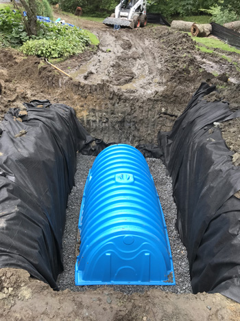 Calculating Cultec Chambers For Residential Drainage
