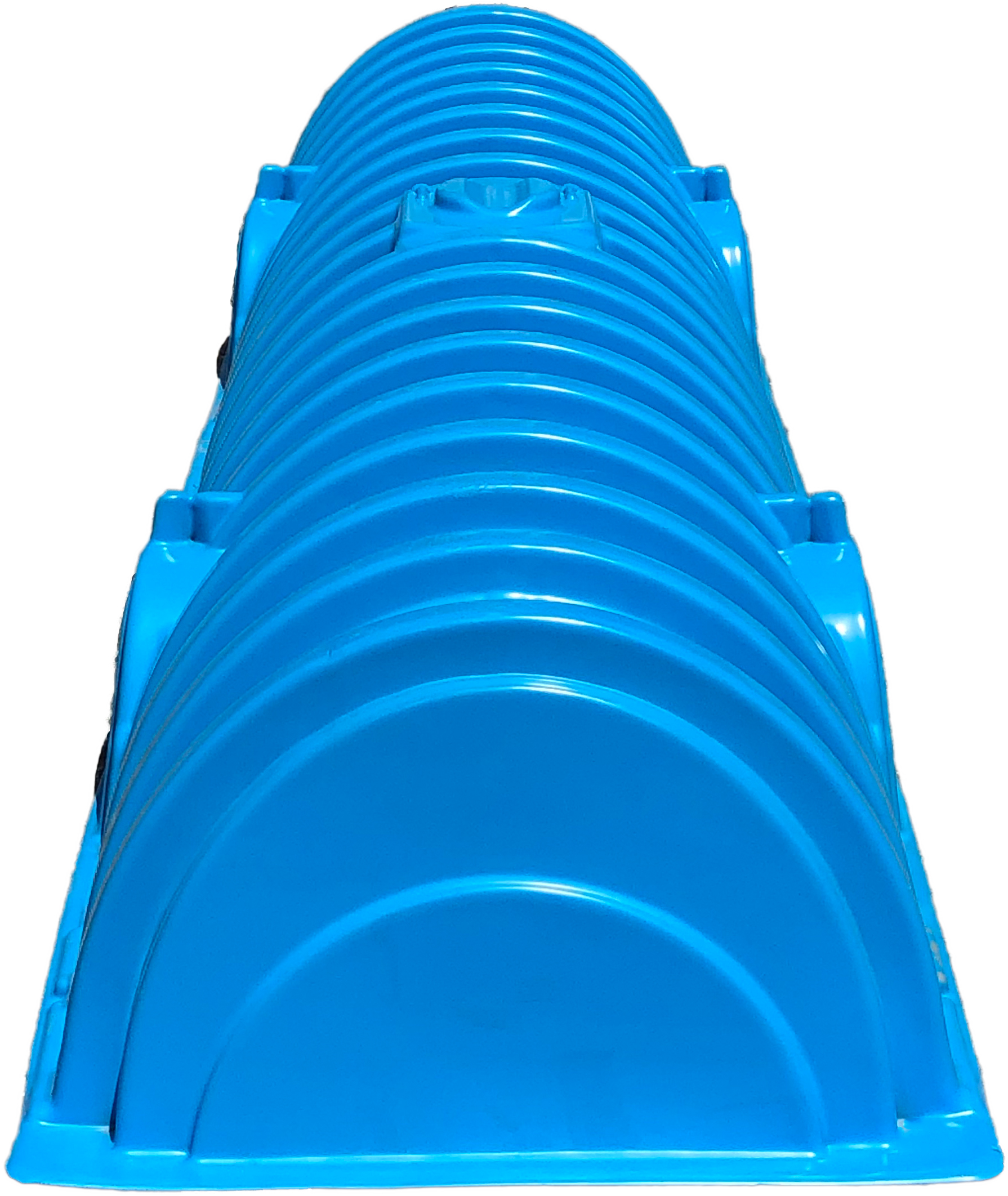 Recharger 150XLHD septic chamber - front viewer - front view