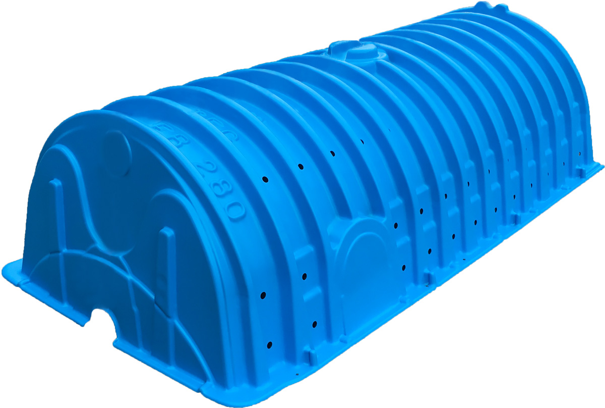 Recharger 280HD septic chamber