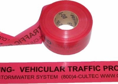 CULTEC WARNING TAPE MODEL # WARNING TAPE