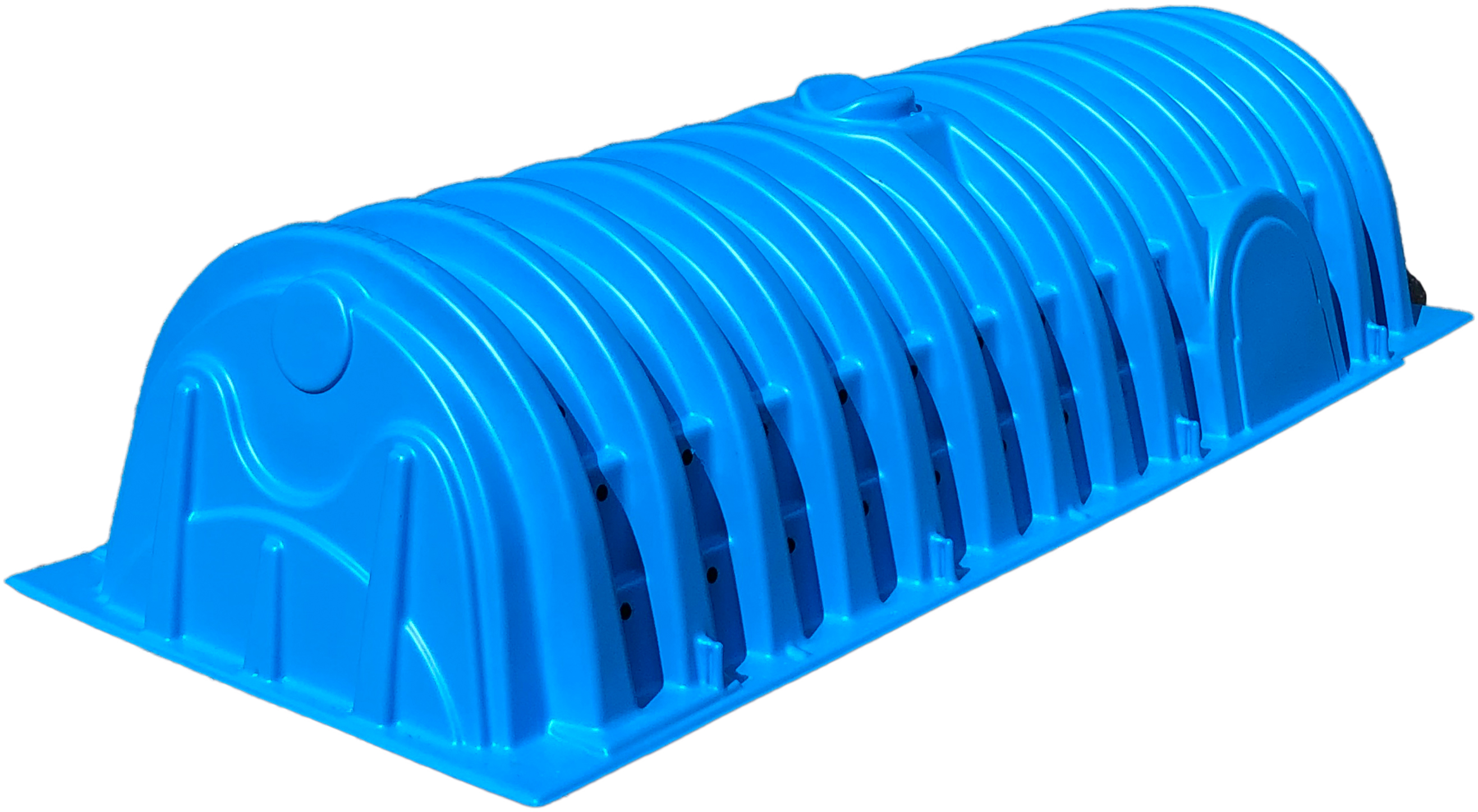 Recharger 180HD septic chamber - side view